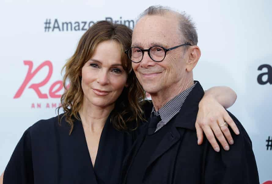 With his daughter, Jennifer Grey, in 2015.