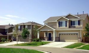 A quiet suburban neighbourhood in Denver, Colorado