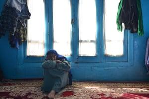 Habiba at home in Kabul