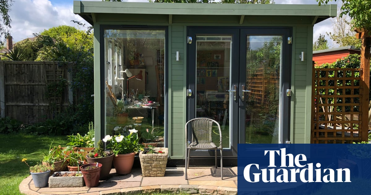 Home working drives demand for 'shoffice' space in UK gardens