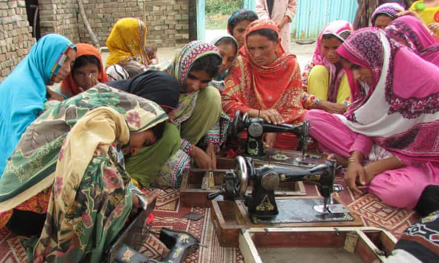 Plan UK has helped 1,496 young women in Pakistan to set up their own businesses.
