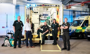 East of England Ambulance service. Featured staff: Duncan Moore - Area Clinical Lead Ajay Kumar - Health,saftey and security Officer Mark Wibberley MBE - Emergency Medical Technican Mindy Thomas - Duty EOC Officer Andrew Fox-Smith - HART (USAR) Senior Paramedic