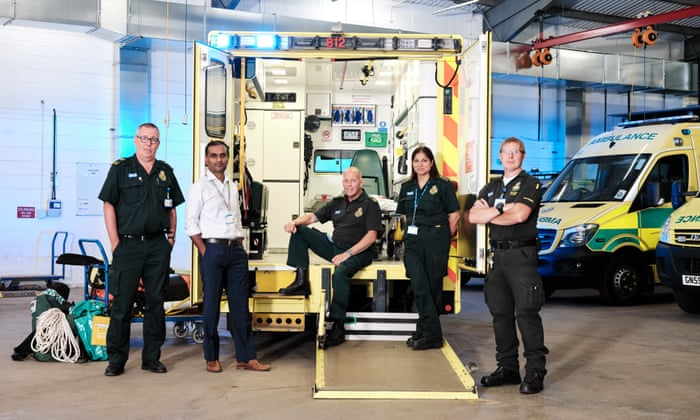 One life is always worth it': why I joined the ambulance