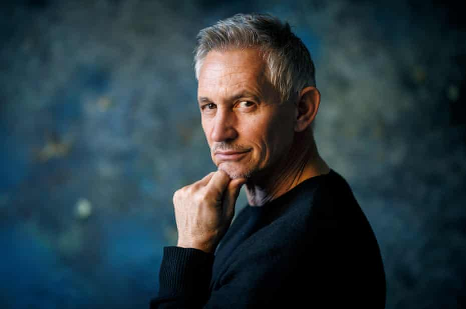 Gary Lineker says: 'While there's always a dark side to football, it's better placed than it's ever been.'