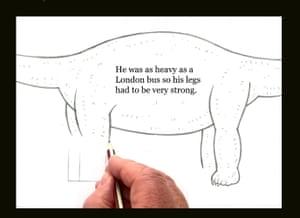 3 - Dippy how to draw dinosaur