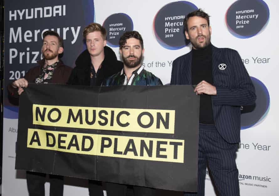 Raising issues … Foals make a statement.