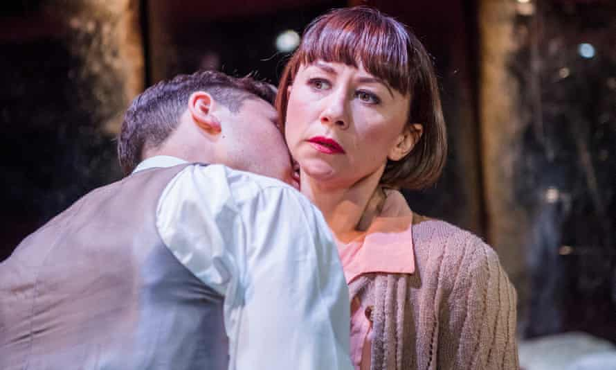 Delicate … Ben Lloyd-Hughes and Claire Lams in Kiss Me.