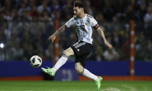 There is a sense that Argentina's fortunes lie entirely in the control of Lionel Messi.