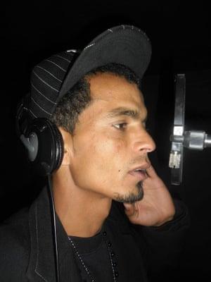 Tunisian rapper Dya Hammadi.