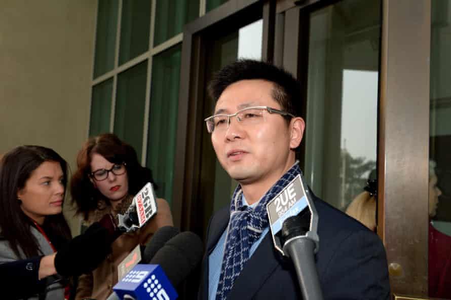 Palmer United party senator Dio Wang