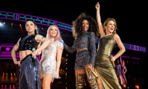 The Spice Girls during their 2019 reunion tour