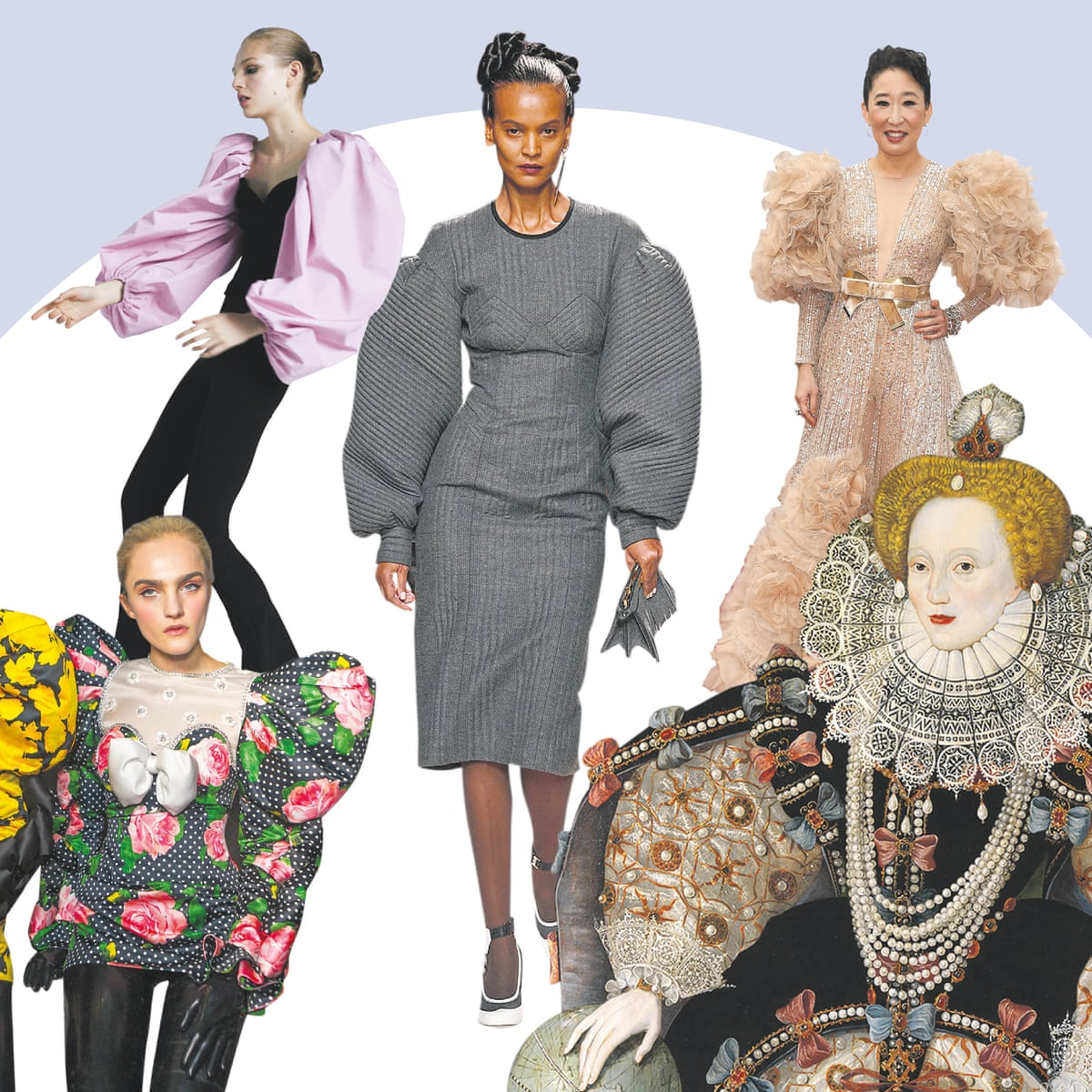 Pump Up The Volume Why Massive Sleeves Are This Year S Biggest Trend Fashion The Guardian