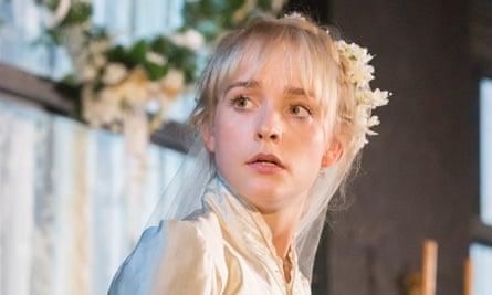 Breathtaking production … Olivia Vinall in Chekhov's Ivanov.