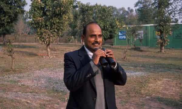 Dr Vibhu Prakash, deputy director of Bombay Natural History Society