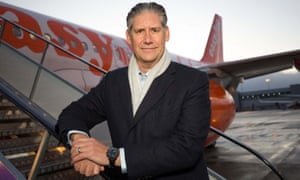 easyJet chief executive Johan Lundgren
