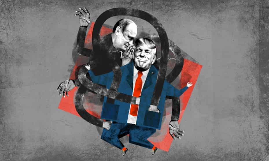 trump and putin illustration by Nate Kitch