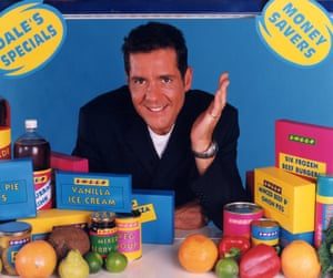 Dale Winton in the original Supermarket Sweep