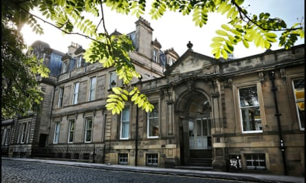 The psychology building at the University of Edinburgh.