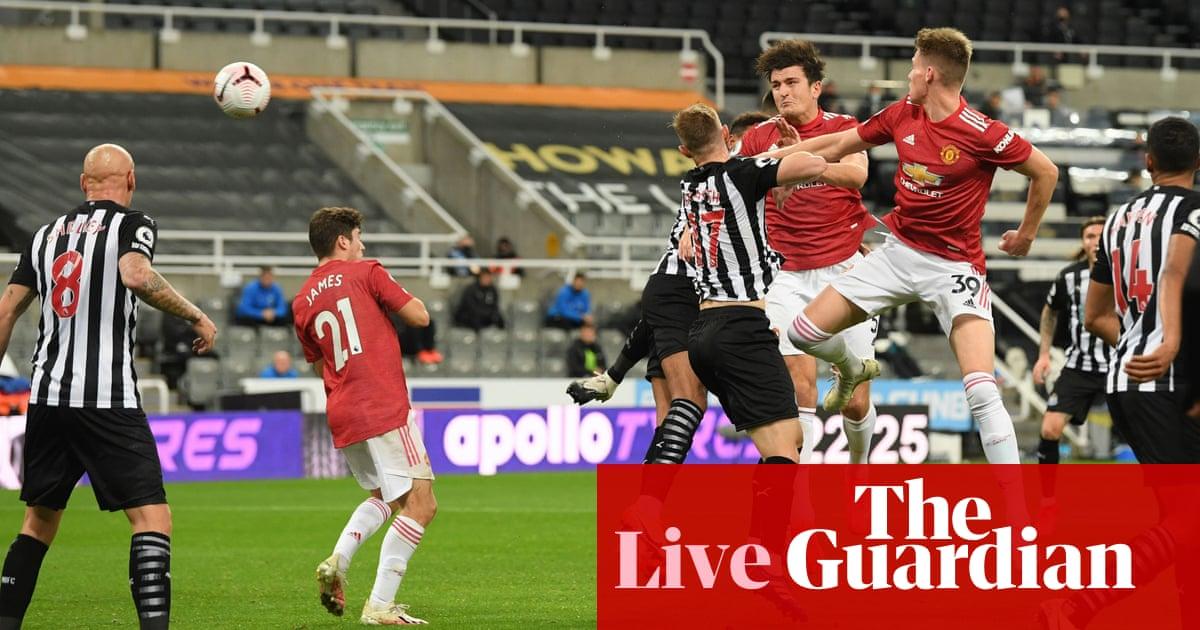 Newcastle United v Manchester United: Premier League – live!