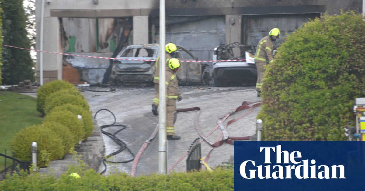 Celtic chief executive 'shaken' after fire and explosion at home