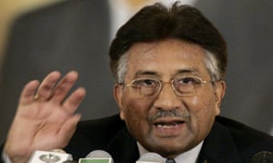 General Pervez Musharraf, pictured in 2007, took control of the country after a military coup in 1999 and remained in power until 2008.