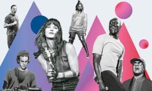 Sleaford Mods; Janet Jackson; Stevie Wonder; Stormzy; Sharon Van Etten; Four Tet