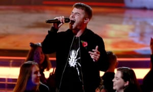 X Factor contestant Anthony Russell's performance was affected by the technical issues.