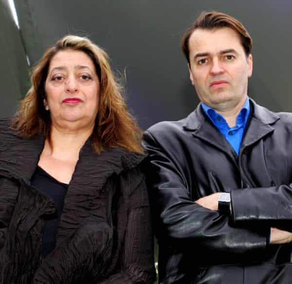 Zaha Hadid and Patrik Schumacher in 2011.