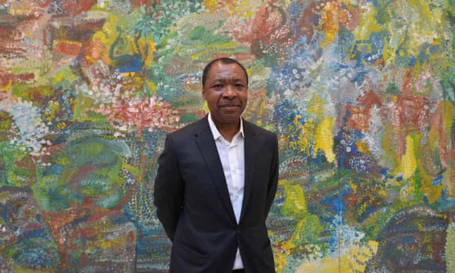 Okwui Enwezor in 2015