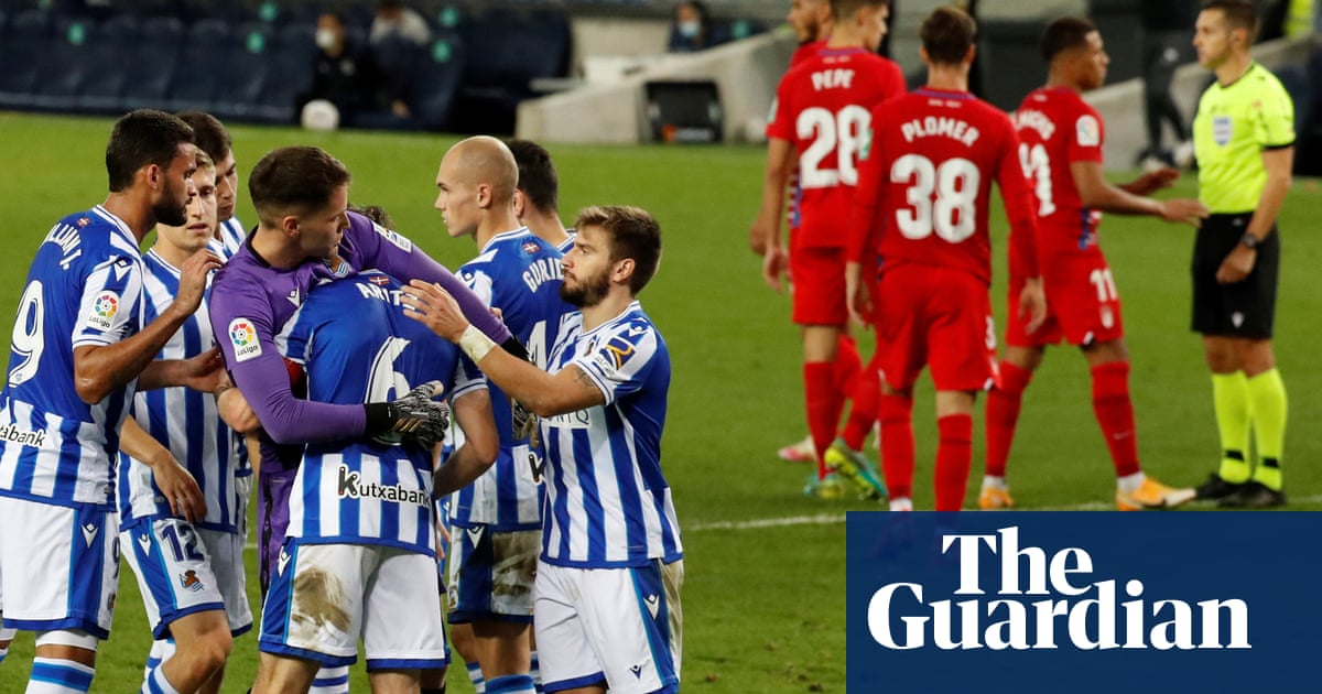 Ravaged by Covid and beaten by Real Sociedad: Granadas cautionary tale | Sid Lowe