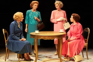 'Here's to certainty' ... Handbagged.
