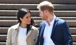 The Duke and Duchess of Sussex on tour in Australia in 2018.