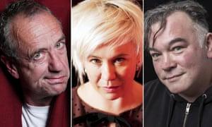 Arthur Smith, Emma Rice and Stewart Lee