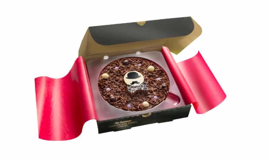 Chocolate pizza, £10.50gourmetchocolatepizza.co.uk