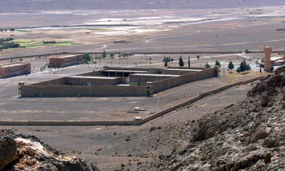 Tazmamart prison, where 58 soldiers were imprisoned in inhumane conditions for 18 years.