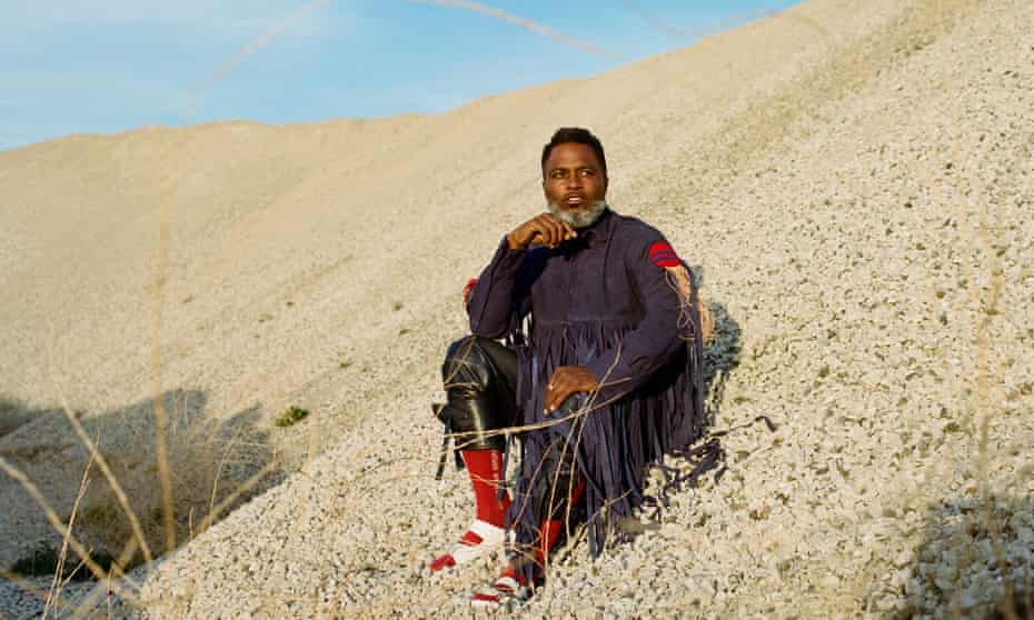 'Slick and dextrous lyrical abstractions' ... Ishmael 'Butterfly' Butler of Shabazz Palaces.