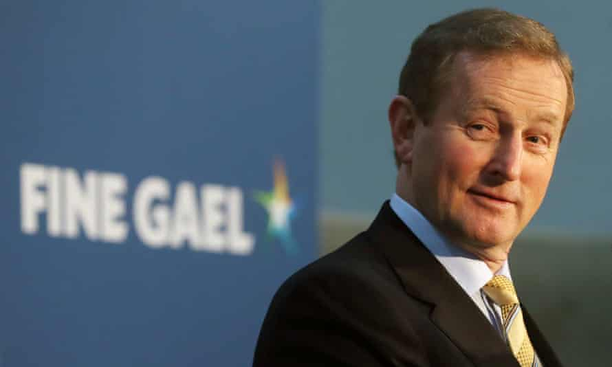 Enda Kenny becomes the first Fine Gael leader to be re-elected as PM.