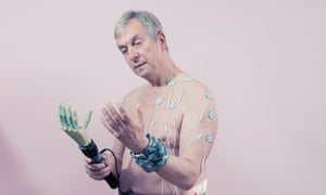 He declared himself 'cyborg': Professor Kevin Warwick.