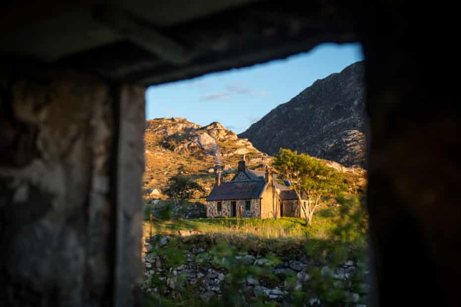 An old ghillie's house, now a bothy