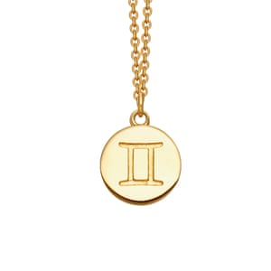 Gemini thick pendant, £60, astleyclarke.com
