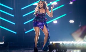 Australia's Jessica Mauboy faces some tough competition in the Eurovision song contest final in Lisbon, Portugal.