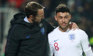 Alex Oxlade-Chamberlain is one of four Liverpool players from Southgate's England squad expected to feature in next month's Club World Cup.