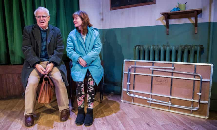 Gary Lilburn (Harry) and Connie Walker (Denise) in Trestle by Stewart Pringle.