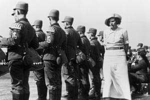 Leni Riefenstahl in Nuremberg in 1935