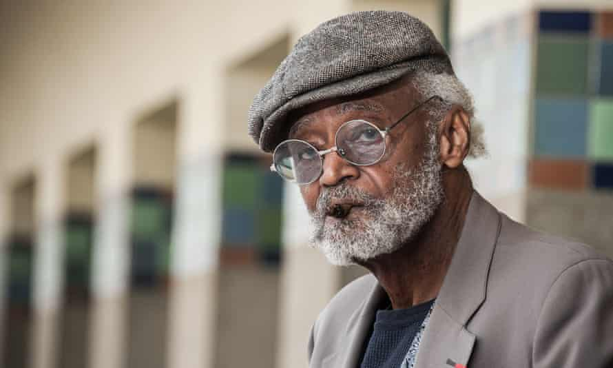 Melvin Van Peebles at the Deauville American film festival, 2012, in Deauville, France.