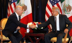 Biden and Lopez Obrador meet when they were vice-president and presidential candidate respectively in 2012.