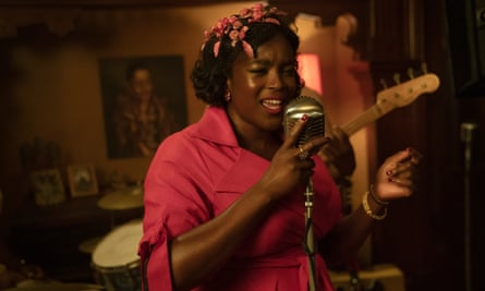 Wunmi Mosaku as Ruby in Lovecraft Country