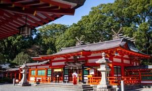 Hayatama shrine.