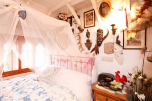 The Moorish bedchamber