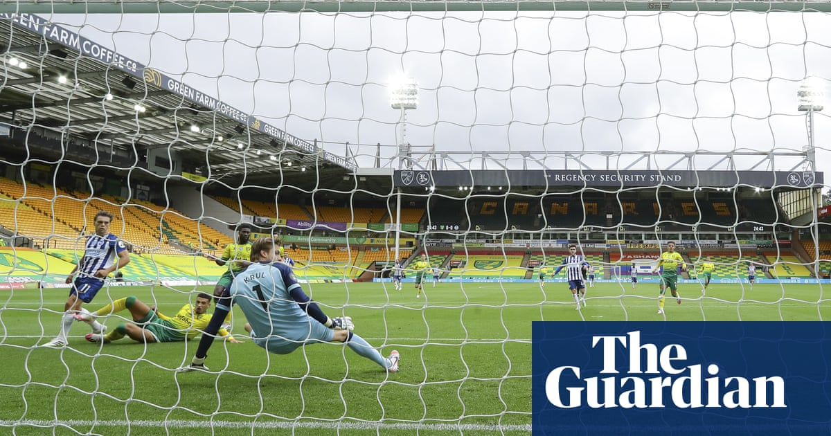 Norwich stare at the trapdoor after Trossard seals win for Brighton